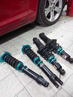 Rx8 adjustable suspension