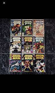 IRON MAN ARMOR WARS II #258-266