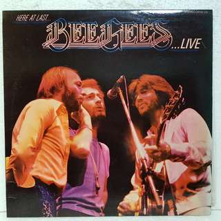 On Hold: Bee Gees ..LIVE  Vinyl Record
