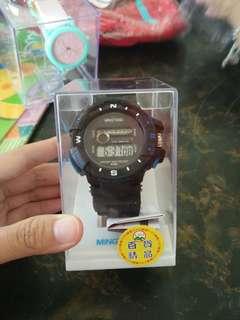 🚚 男錶 手錶 全新現貨一盒 電子錶
