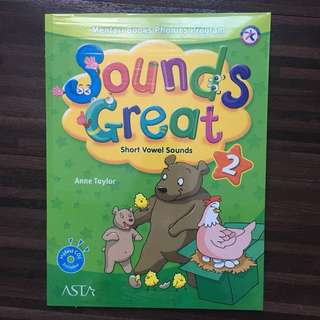 Sounds Great level 2 (buku les Inggris Mentari Books Phonics Program)