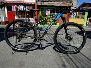 Mountain bike q1000 trinx (upgraded) downhill set up