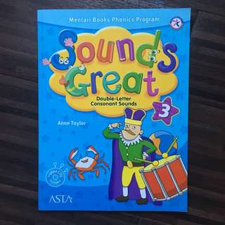 Sounds Great level 3 (buku les Inggris Mentari Books Phonics Program)