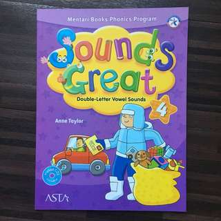 Sounds Great level 4 (buku les Inggris Mentary Books Phonics Program)
