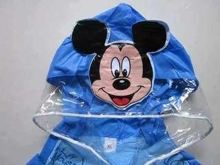 兒童立體書包雨衣