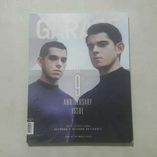 Garage magazine Richard and Raymond