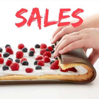 Swiss Roll Baking Silicon Tray