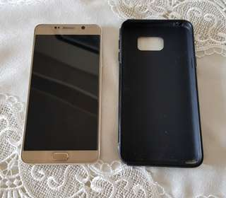 Samsung Galaxy Note 5 32gb with Glass Protection and Case