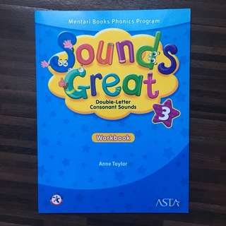 Sounds Great Workbook level 3