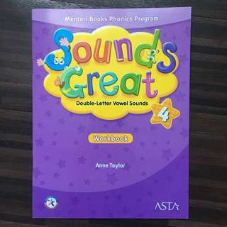 Sounds Great Workbook level 4