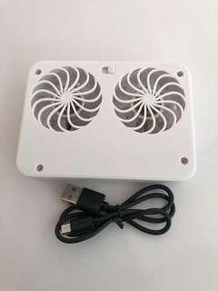 Ventilation fan for notebooks