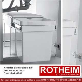 Rotheim Assorted Drawer Waste Bin