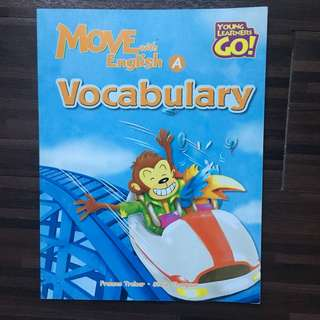 Move with English Vocabulary A