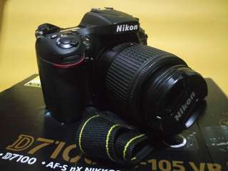 D7100 with 55-200mm zoom lens