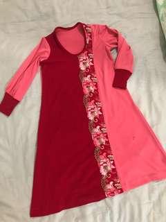 Jubah / dress for girls