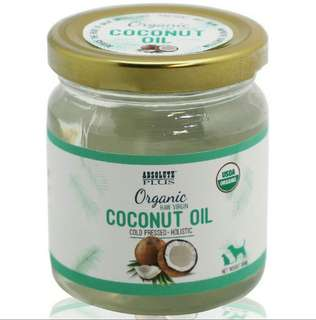 Absolute Plus Organic Raw Virgin Coconut Oil 180ml $15.90 / 450ml $28.90