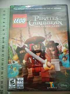 New Original PC/MAC DVD-ROM LEGO Disney Pirates of the Caribbean Video Game