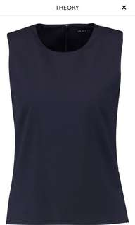 Theory navy top for work size S