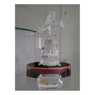 4 Swarovski Crystal - AE 2000 COLUMBINE (SIGNED)