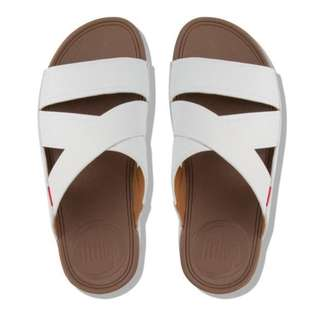fa0c1a425 FitFlop CHI™ Men s Leather Slide Sandals