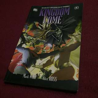 DC Comics Kingdom Come Book by Alex Ross and Mark Waid