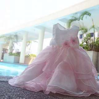 Baby Grand Signature Petal Gown