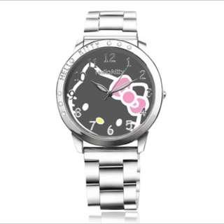Hello kitty watches fashion quartz woman dress watch