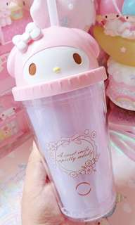 Brand new Sanrio My Melody Cup with Straw