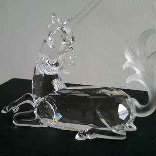 7 Swarovski Crystal - AE 1996 UNICORN