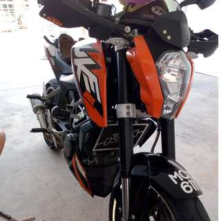 Ktm Duke 200 to let go