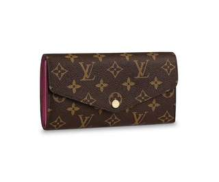 Louis Vuitton - Sarah Monogram Wallet - Fuchsia