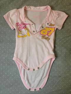 Pink Polo Onesie