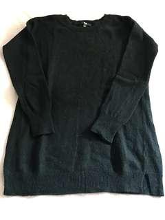UNIQLO Long Black Sweater