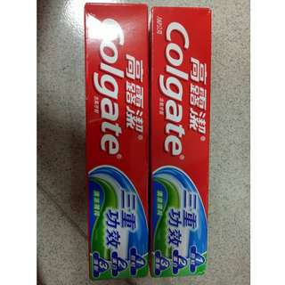 高露潔 三重功效牙膏#五十元好物