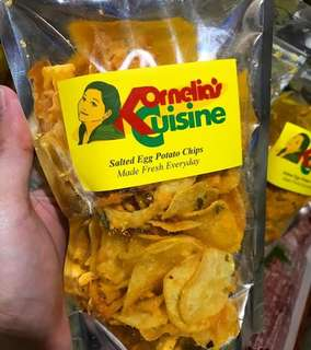 Kornelia's Cuisine Salted Egg Potato Chips