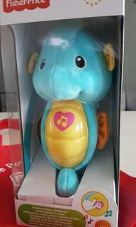 Fisher Price Toy - Musical Seahorse