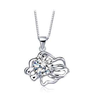 Zodiac Leo GENUINE 925 Silver Necklace (pendant + chain + anti tarnish silver cloth + box/pouch)