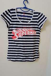 Kaos cotton on superman