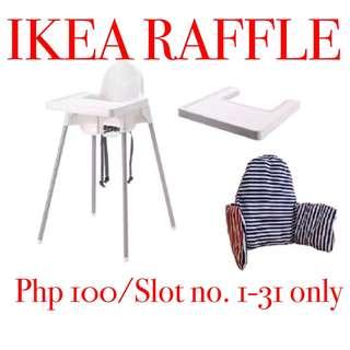 IKEA RAFFLE RAFFLE RAFFLE