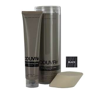 COUVRE Scalp Concealing Lotion, Black 1.25 fl oz (36.95 ml)