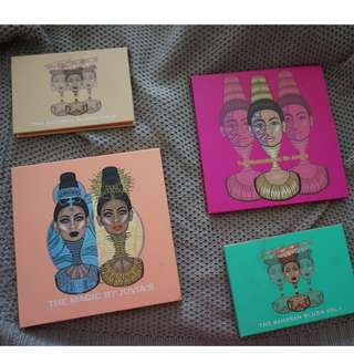 Juvia's Place Eyeshadow and Blush Palettes