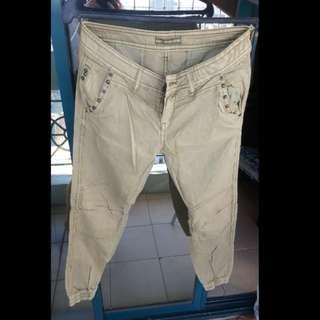 Army Green Jogger-like pants