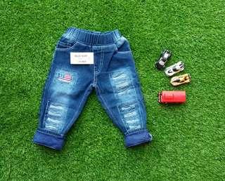 Celana Jeans Anak Stik Balik Size 4 5 6