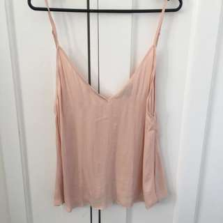 pink glassons top