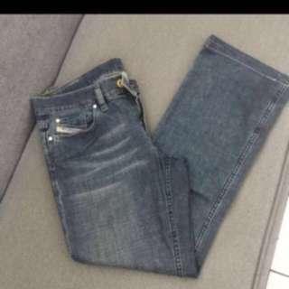 autentico diesel industry denim jeans  ( size 30 )