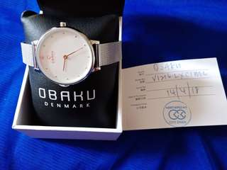 Obaku denmark ladies watch