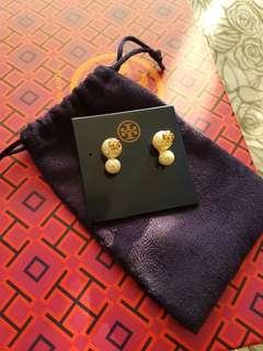 Tory Burch Pearl Earrings