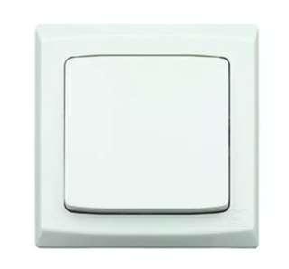 MK Electric 1 Gang 1 Way 10AX SP Switch (S4781W1)