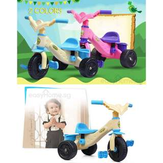 Children Tricycle (3 wheels bicycle car baby kids toy game riding)