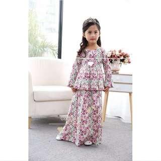 Muslimah Fashion Jubah Peplum Dress